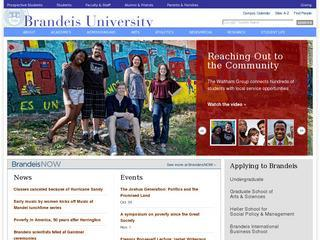 Brandeis University Bioinformatics Program